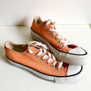 Converse All Star Low Top Orange Shoe
